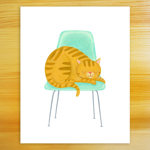 Favorite Chair - 8x10 Print