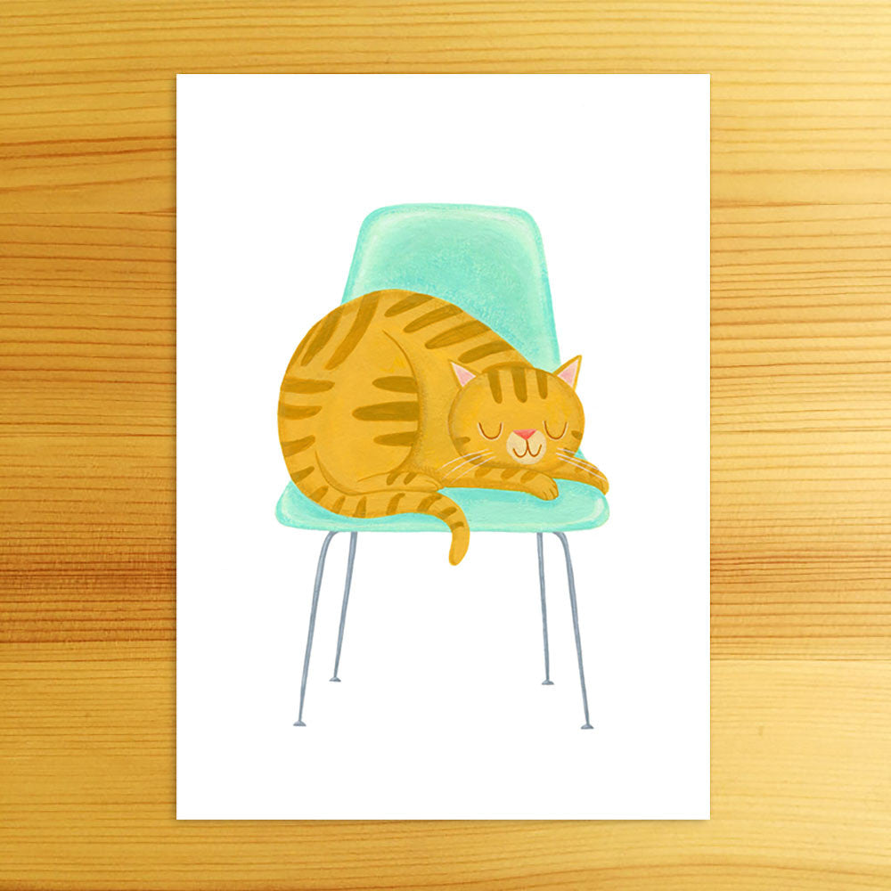 Favorite Chair - 5x7 Print
