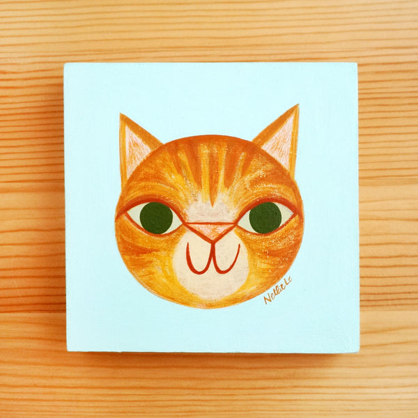 Ginger Brat Cat - Mini Painting