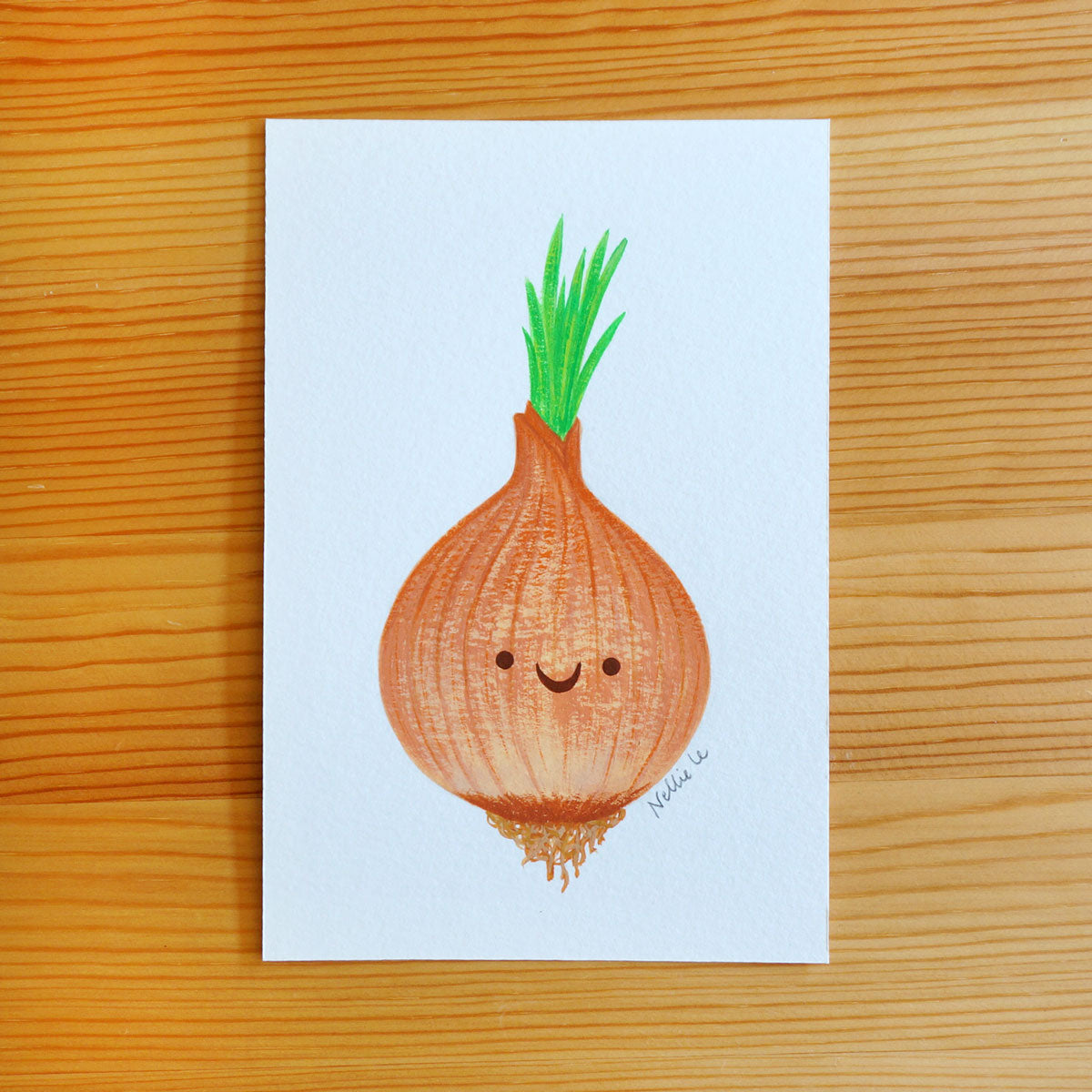 Happy Onion - Mini Painting