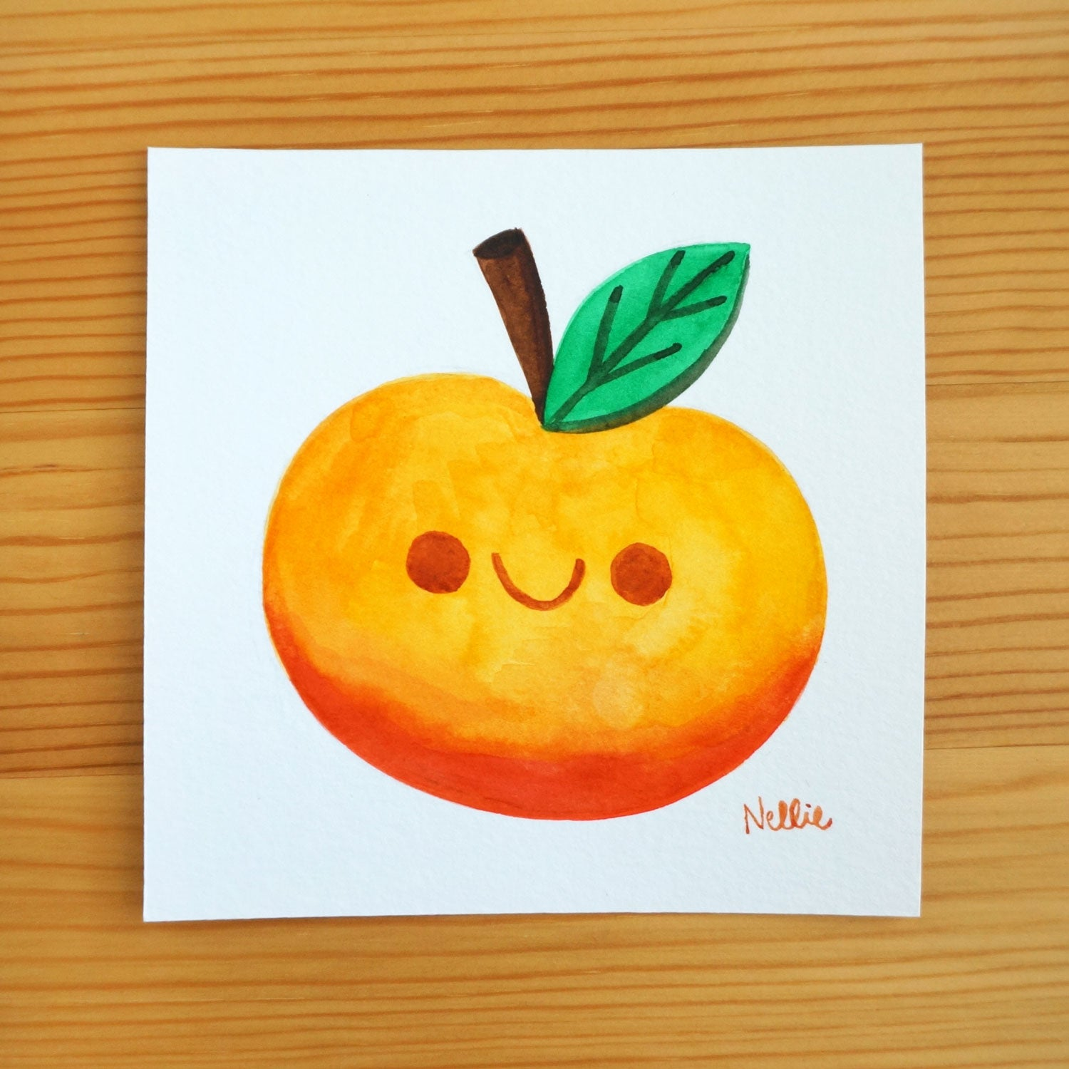 Happy Fruit 1 - Mini Painting