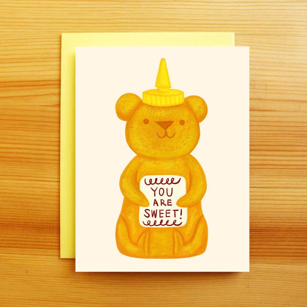 Sweet Honey Bear Card
