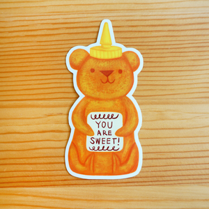 Honey Bear Sticker