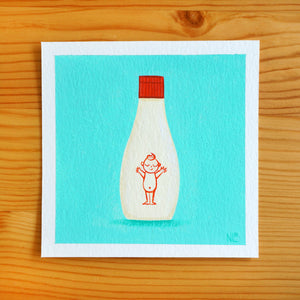 Kewpie Mayo - Mini Painting