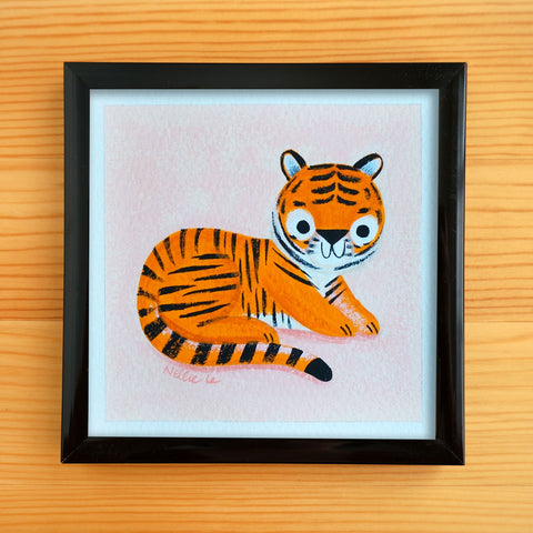 Kid Tiger 1 - Mini Painting