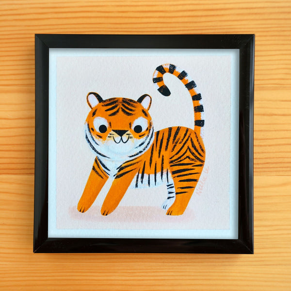 Kid Tiger 2 - Mini Painting