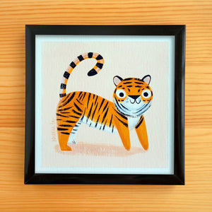 Kid Tiger 3 - Mini Painting