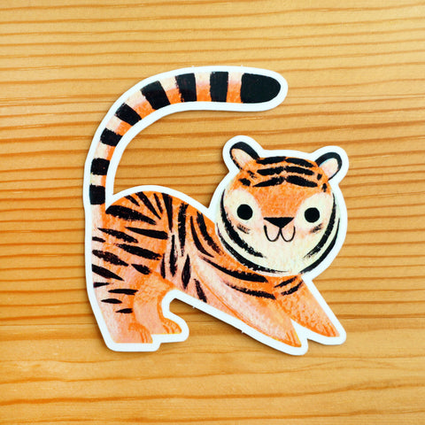 Kid Tiger Sticker