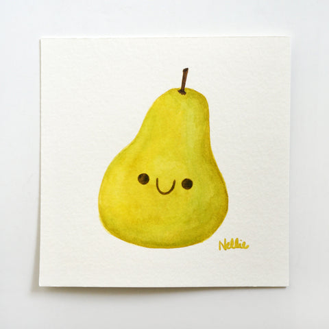 Lil Pear - Mini Painting