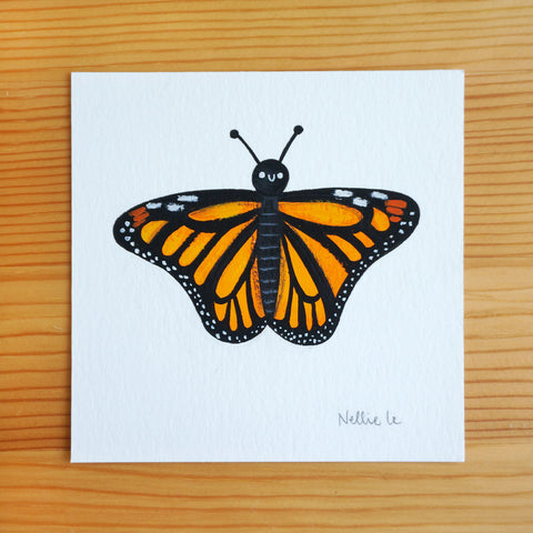 Lil Monarch - Mini Painting