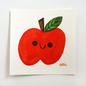 Lil Apple - Mini Painting