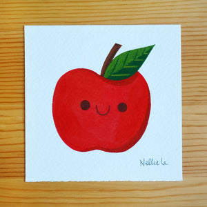 Lil Apple Friend - Mini Painting