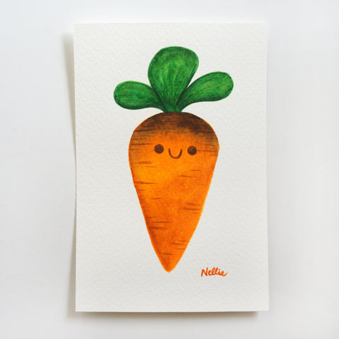 Little Carrot - Mini Painting