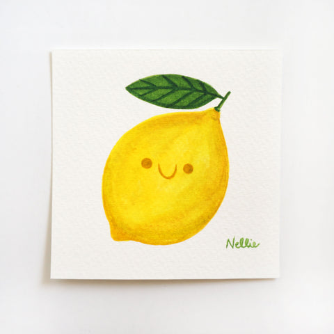 Little Lemon - Mini Painting