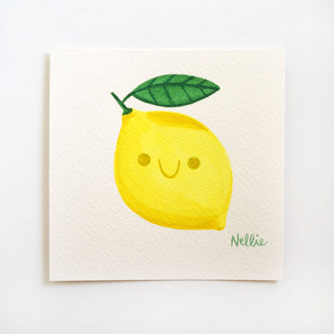 Little Lemon 2 - Mini Painting