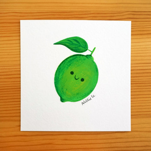 Little Lime - Mini Painting