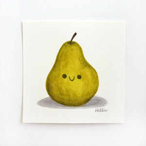 Little Pear Friend 2 - Mini Painting
