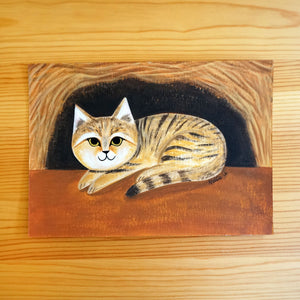 Little Sand Cat - Original Painting