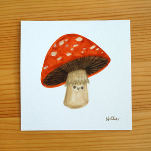 Lil Shroom Buddy - Mini Painting