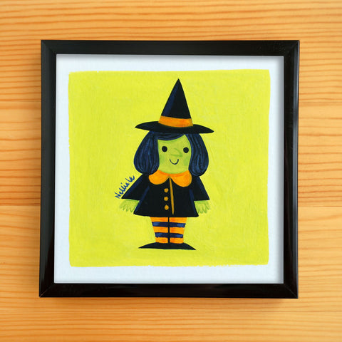Little Witch - Mini Painting