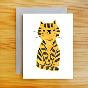 Little Tiger Card