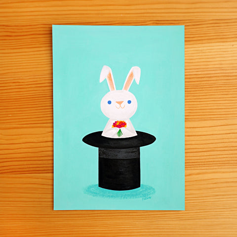 Magic Bunny - Original Painting