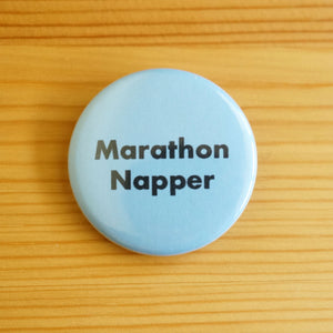 Marathon Napper Button