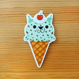 Mint Chip Scoop Sticker