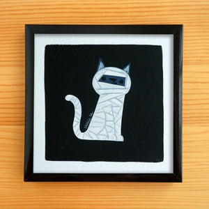 Mummy Cat - Mini Painting