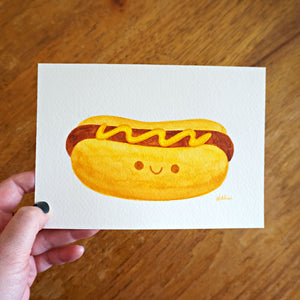 Mustard Dog - Mini Painting