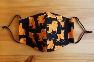*PRE-ORDER* Orange Cats - Fitted Face Mask