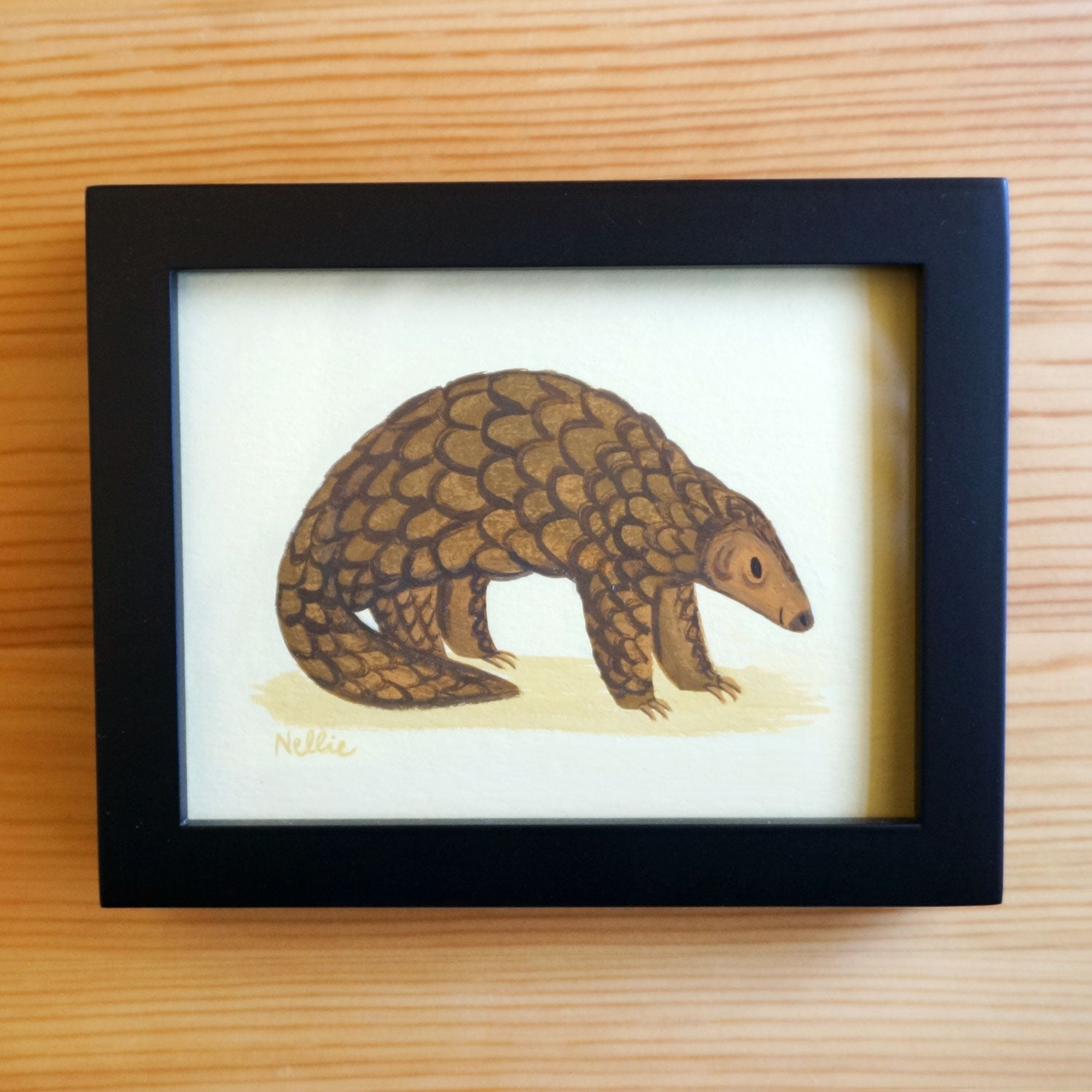 Pangolin - Mini Painting