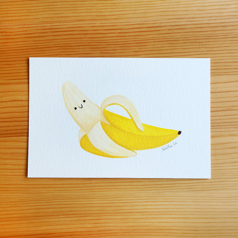 Hey There, Banana - Mini Painting