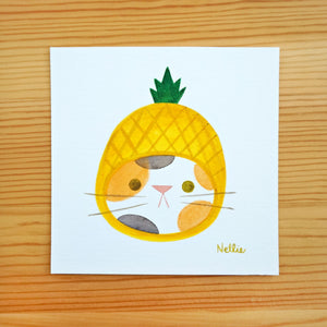 Pineapple Hat - Mini Painting