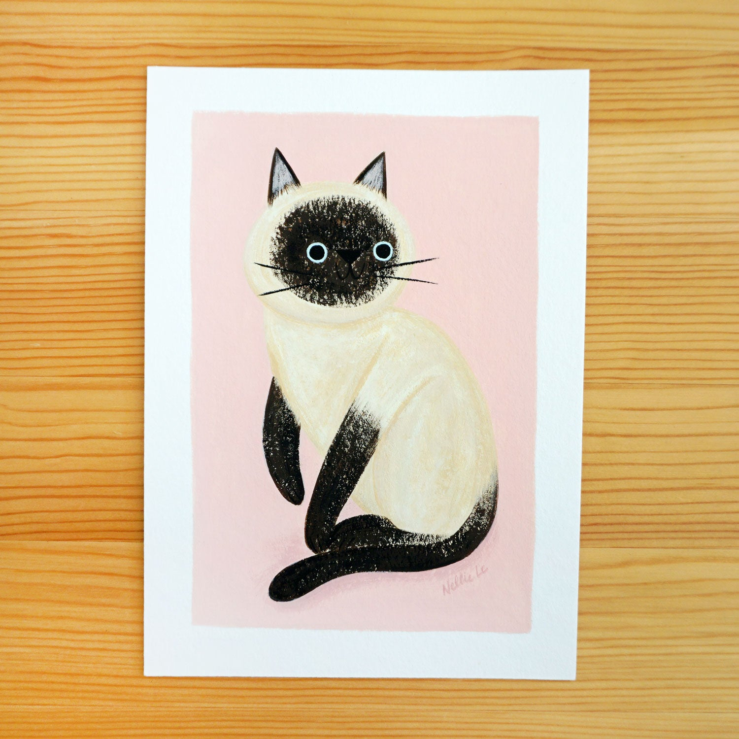 Sweet Siamese - Original Painting