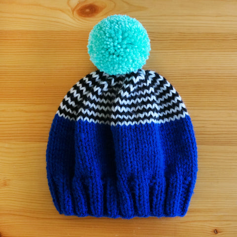 Playtime Hat - Blue/Aqua