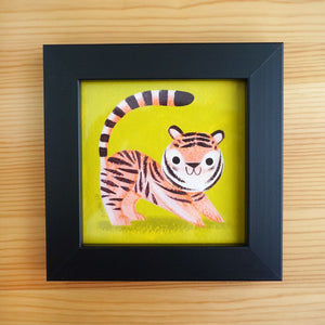 Pluot Tiger - Mini Painting
