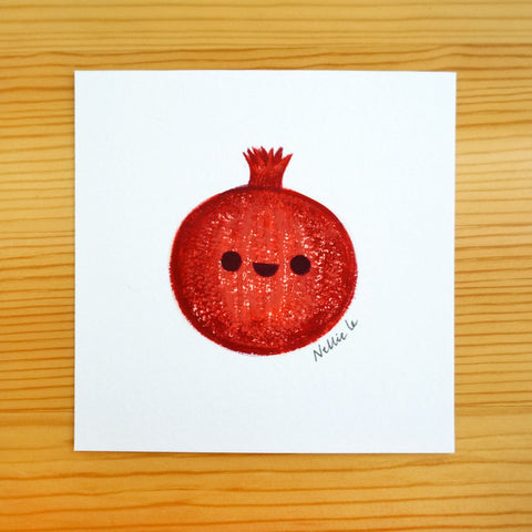 Pomegranate - Mini Painting