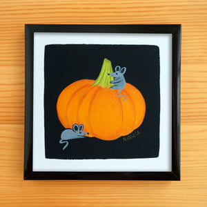 Pumpkin Pals - Mini Painting