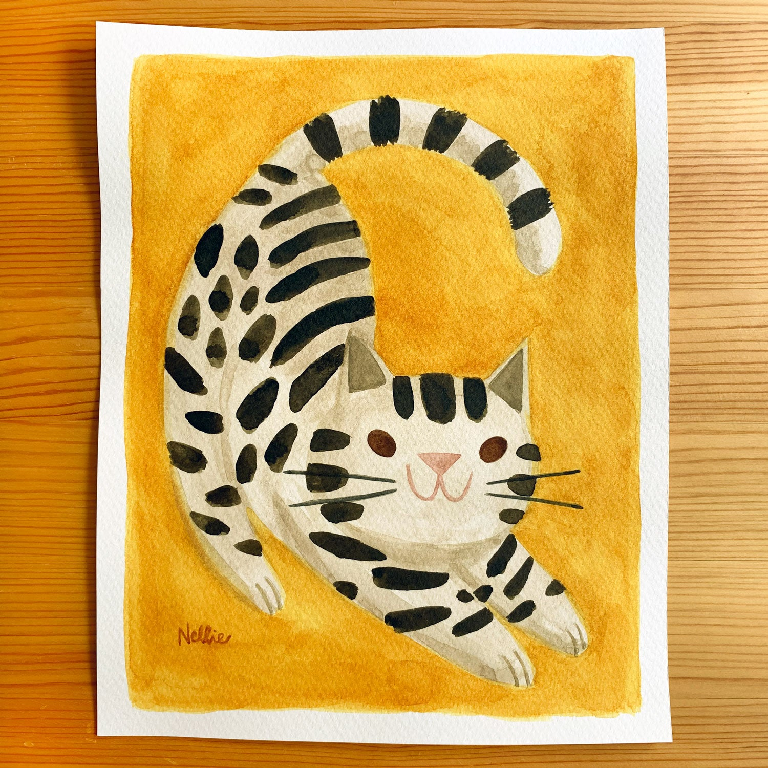 Ready To Pounce - Original Painting