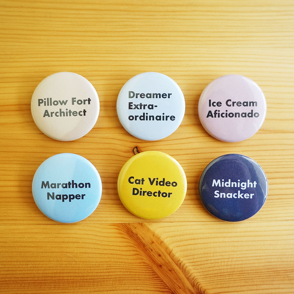 Real Jobs Button Set