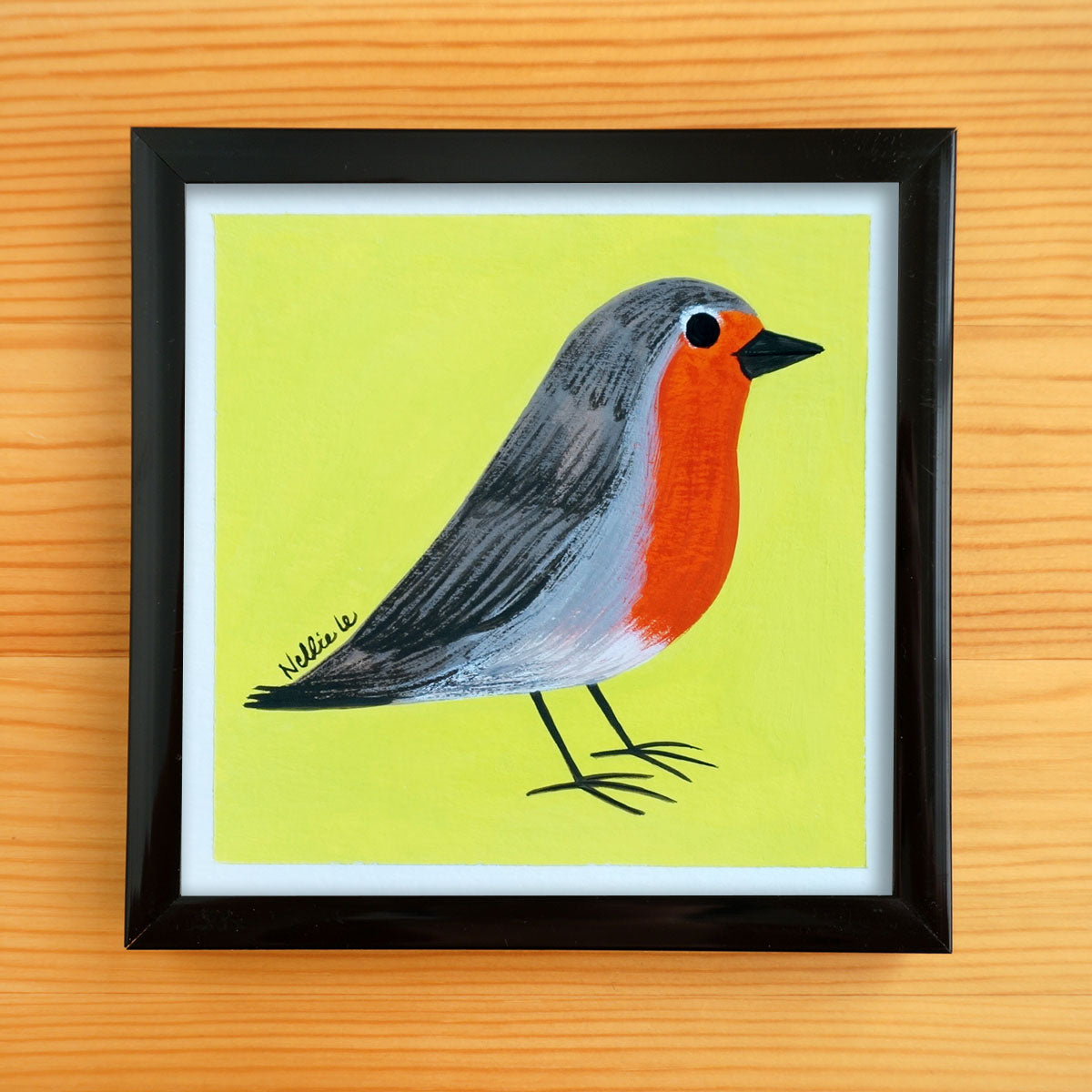 Robin - Mini Painting