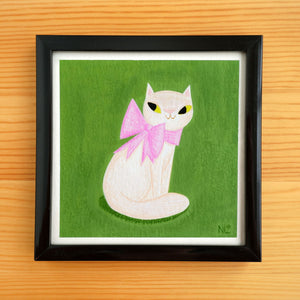 Sassy Cat - Mini Painting