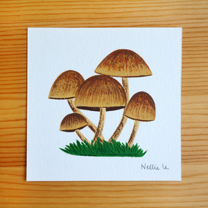 Shrooms - Mini Painting