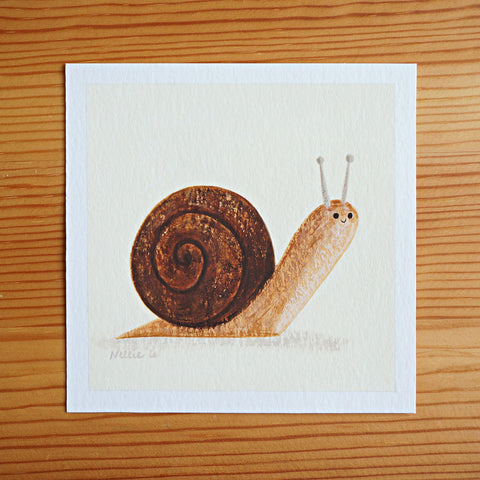 Snail 1 - Mini Painting