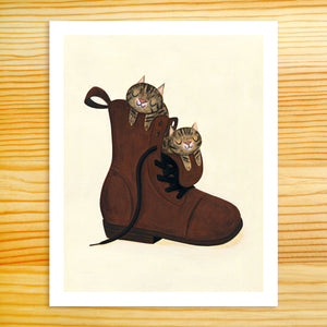 Boot Buddies - 8x10 Print