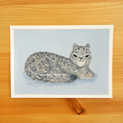 Snow Leopard - Original Painting