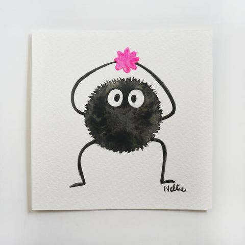 Candy Soot Sprite - Mini Painting