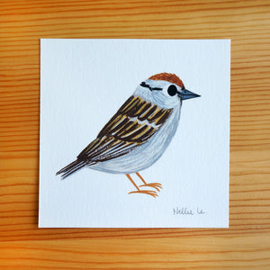 Lil Sparrow - Mini Painting