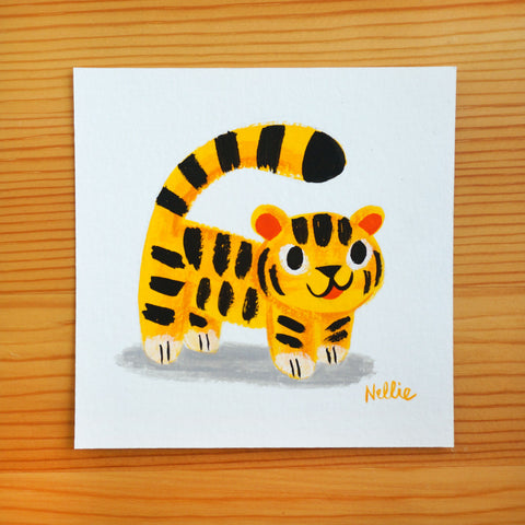 Tiger Doll - Mini Painting